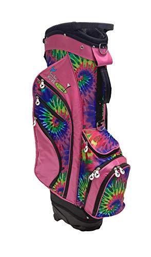 Birdie Babe Womens Golf Bag Pink Tie Dye...