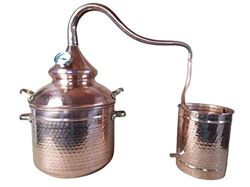ALAMBIQUE COBRE ESPECIAL HIERBAS AROMÁTICAS (3 litros)