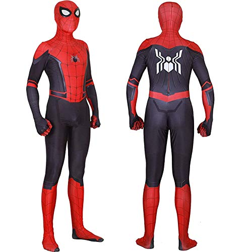 Bisika Cos Unisex Lycra Spandex Zentai Halloween New Far from Home Cosplay Costumes Adult/Kids