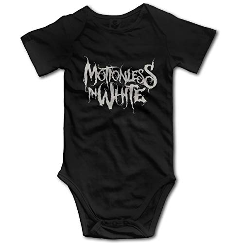 U are Friends Motionless in WhiteGirl Boy Kid Bébé Combi-Short Combi-Short pour bébé pour Tout-Petit(0-3M,Noir)
