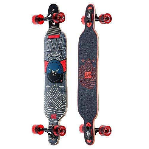 """DB Longboards Pioneer 38 Mountains Longboard Complete Skateboard - 9"""" x 38"""""""