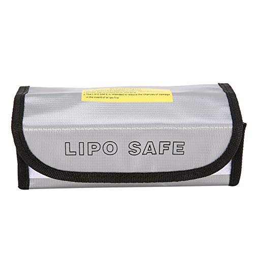 Fire Retardant LiPo Battery Bag LiPo Safe Guard Charging Box Bag Sack Pouch Fireproof Explosion-proof for RC Model Drone Car