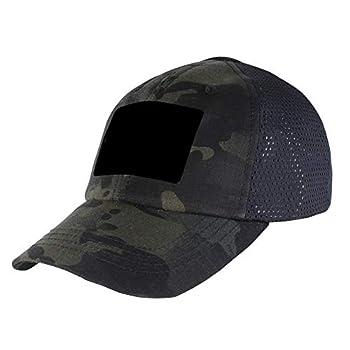 Condor Mesh Tactical Cap  Multicam Black One Size Fits All
