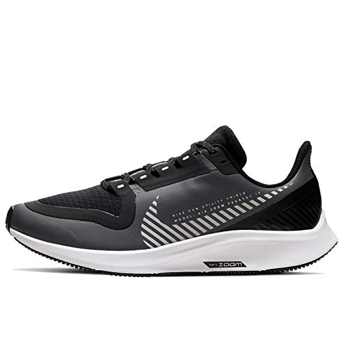 Nike Air Zoom Pegasus 36 Shield Gs Big Kids Bq5705-002 Size 5.5, Cool Grey/Silver-black-vast Grey