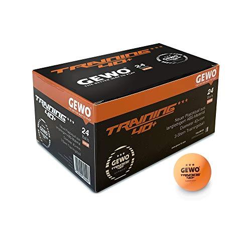 GEWO Trainingsball ***40+ 24er, 101594200, Orange