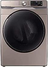Samsung DVE45R6100C 7.5 Cu. Ft. Champagne Electric Dryer with Steam Sanitize+ DVE45R6100W/A3