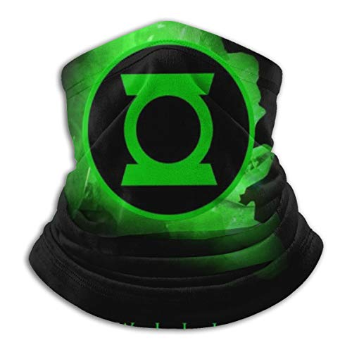 Green Lantern First Flight Warmer Neck Gaiter Windproof Mouth Face Cover Magic Scarf Bandana Balaclava