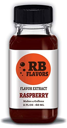 RB Flavors Raspberry Concentrated Extract - 2 ounces