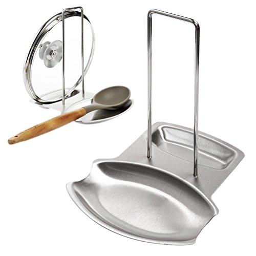 Scaffali da cucina, acciaio inossidabile 304 Pot rack Rack rack Addensare Antiscivolo Impermeabile Facile da pulire (dimensioni : 18.7x15.7x20.5)