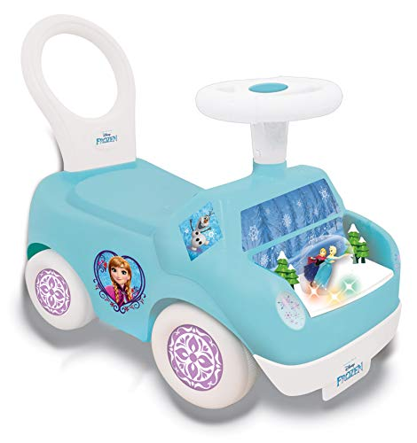Kiddieland Toys Limited Frozen Magical Snow Globe Activity Ride On