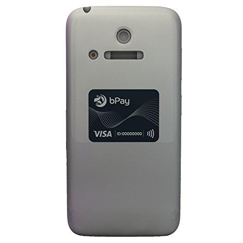 bPay stickers, apparaat voor contactloze betaling, lichtgrijs, Sticker - Charcoal