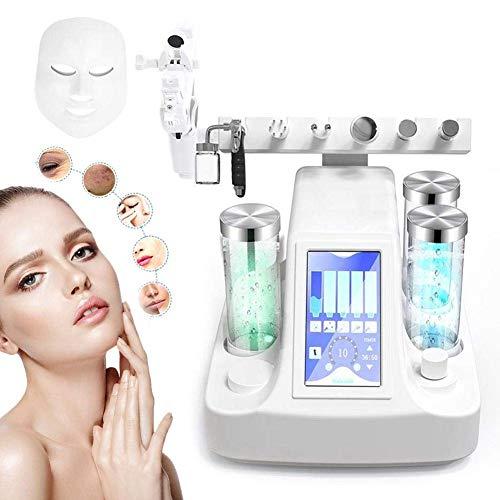 8 IN 1 Machine multifonctionnelle de peau de rajeunissement hydratant de pulvérisateur facial d'hydro-dermabrasion d'aspiration de vide de Blackhead d'aspiration multifonctionnelle d'aspiration
