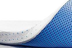 "in budget affordable ViscoSoft 3 ""Queen Memory Foam Mattress Pads | Choose a Breathable High Density Mattress"
