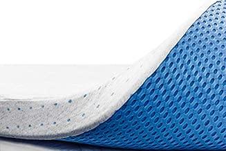 ViscoSoft 3 Inch Memory Foam Mattress Topper Queen | Select High Density Ventilated Mattress Pad