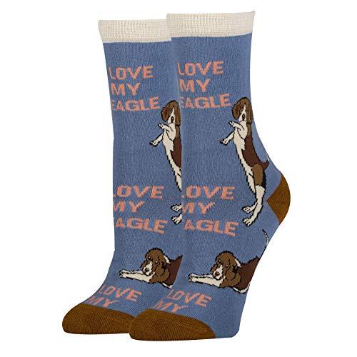 Damen-Socken für H&eliebhaber, Oooh Yeah, lustig, verrückt, albern, coole Freizeit-Socken - - Einheitsgröße