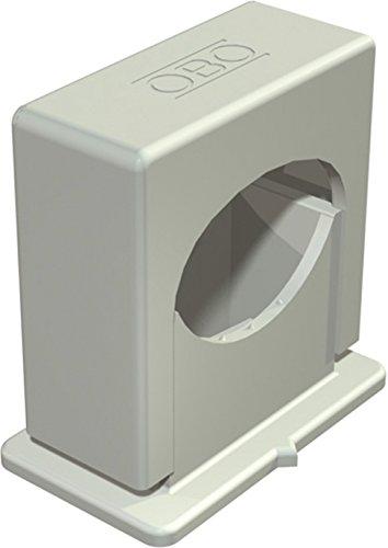 OBO BETT. Druck-ISO-Schelle M6,gr 3050 LGR