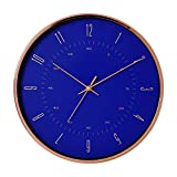LTOOD Bauhaus Minimalista Moderna casa Reloj Sala de Estar Reloj silencioso