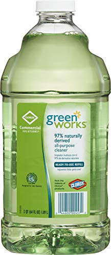 CloroxPro Not Available Green Works All Purpose Cleaner Refill, 64 Ounces (00457), Greater than 40 ounces