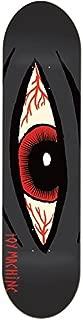 Toy Machine Bloodshot Sect Eye Skateboard Deck 8.125 - Charcoal