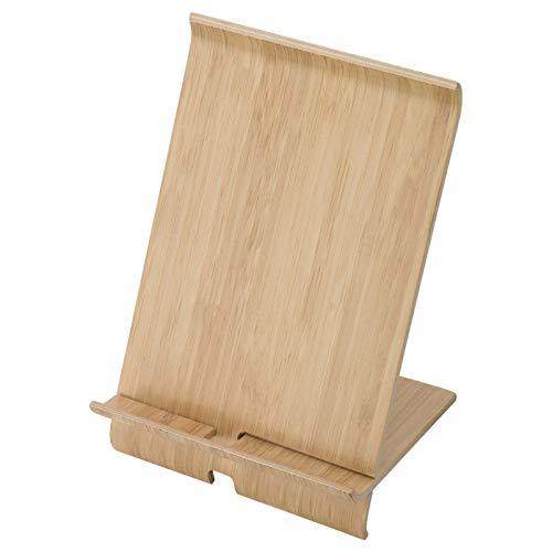 IKEA SIGFINN Support de téléphone portable plaqué bambou
