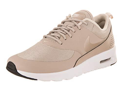 Nike Women's Low-Top Sneakers Gymnastics Shoes, Beige String Light Cream Black White 205, Women 2