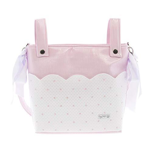 Bolso Talega para silla de Paseo Rosy Fuentes en color rosa