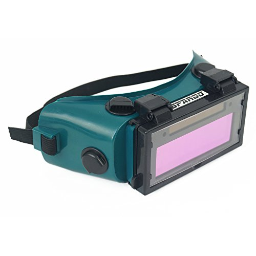 Product Image of the Spargo Auto Darkening LCD Welding Helmet Mask Goggles Solar Welder Eyes Glasses Gas Flip Up Lens Eye Protection