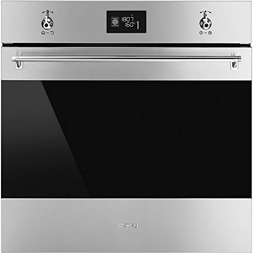 Smeg SFU6302TVX Classic Aesthetic Multi-Function Convection Oven with 2.8 Cu. Ft Oven Capacity, 24-Inches