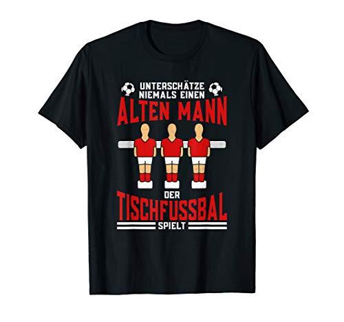 Herren Tischkicker Tischfußball Kickerkasten Lustiges Kneipen T-Shirt