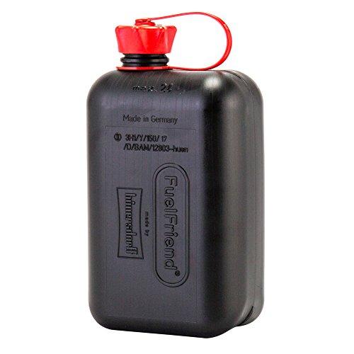[ ヒューナースドルフ ] Hunersdorff 燃料タンク ポリタンク フューエルフレンド 2L ウォータータンク 815710 ブラック Black FUEL FRIEND 燃料 灯油 タンク キャニスター アウトドア キャンプ [並行輸入品]