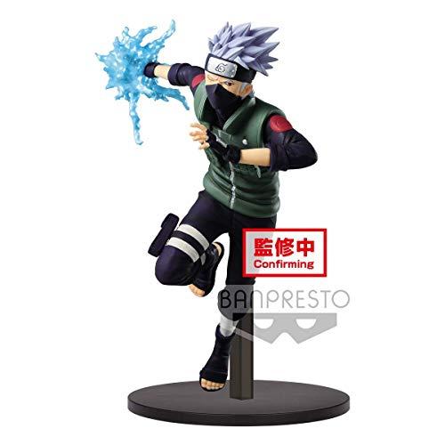 Banpresto BP39857 Hatake Kakashi Figur, Mehrfarbig