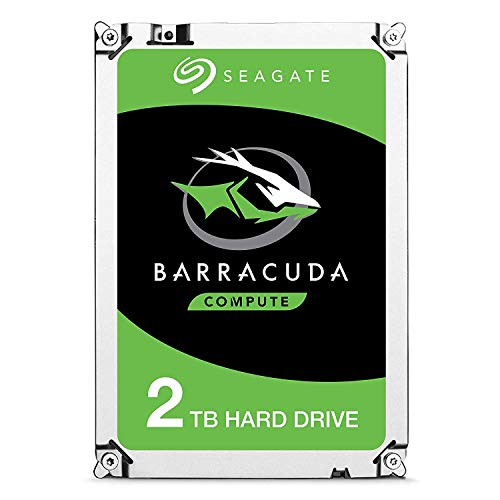 Seagate Barracuda ST2000DM008 Interne Festplatte für Desktop PC, NAS (8,9 cm (3,5 Zoll), 256 MB Cache, 7200RPM, SATA-III 6Gb/s) (Generalüberholt), Kapazität:2.000GB (2TB)