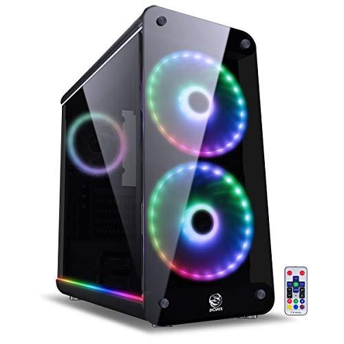 GABINETE SOLARIS PRETO RGB SOLPTRGB2FV, PCYES, 32076