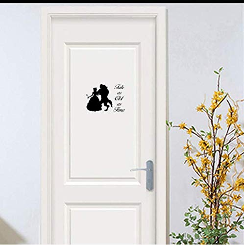 Chi Wall Sticker Tale As Old As Time Vinyl Sticker Sticker Creativo A   Prueba De Agua Pegatinas De Pared Home Ldecoriving Room 25 * 18.7 Cm