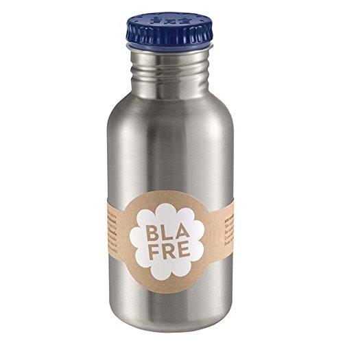 BLAFRE Unisex Trinkflasche Blau BL4568 500ml Edelstahlflasche - Größe: 500ml