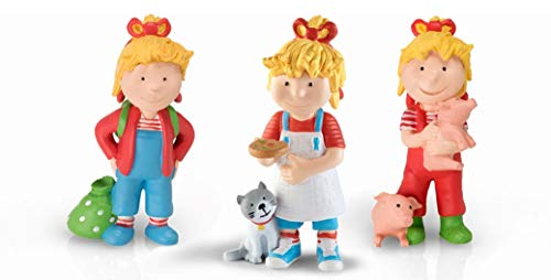 Tonie Conni 3er Set Conni kommt in den Kindergarten + Auf dem Bauernhof + Conni backt Pizza