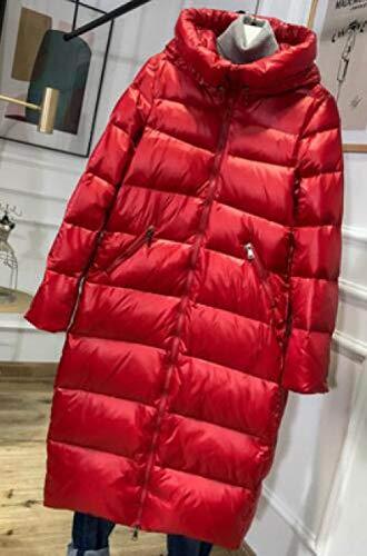 DPKDBN Dames Donsjas, Dikke Warm Lange Winterjas Vrouwen Hooded Vrouwelijke Parka Sneeuw Outwear Puffer Jacket Waterdicht
