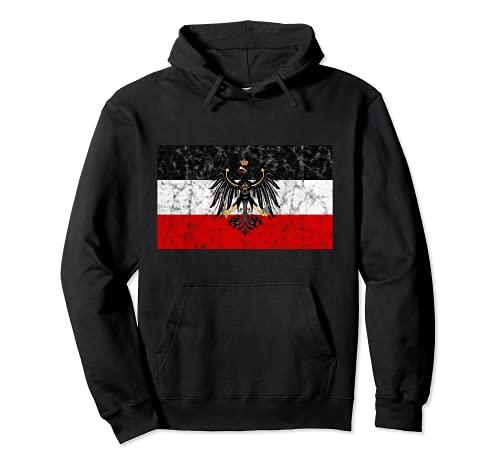 Reichsadler Deutsches Reich S-W-R Pullover Hoodie