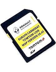Nieuwste SD-kaart voor Renault Tom Tom Live Carminat 2021 SD-kaart Sat Nav kaartupdate versie 10.45 Dekking geheel Europa, onderdeelnummer: 39921-54PA4