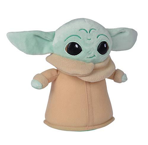 Simba 6315875804 18cm Plüschfigur / 0Monate+ Disney Mandalorian/The Child 18 cm/Baby Yoda/Plush Toy / 0 Months +