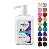 Keracolor Clenditioner Color Depositing Conditioner Colorwash, Purple, 12 fl oz