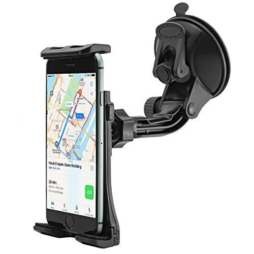 Universal Armaturenbrett Auto KFZ-Halterung für Handy, Smartphone, Phablet, Navigationsgeräte und Tablet PC (max. Breite / Länge von 115mm bis 220mm)