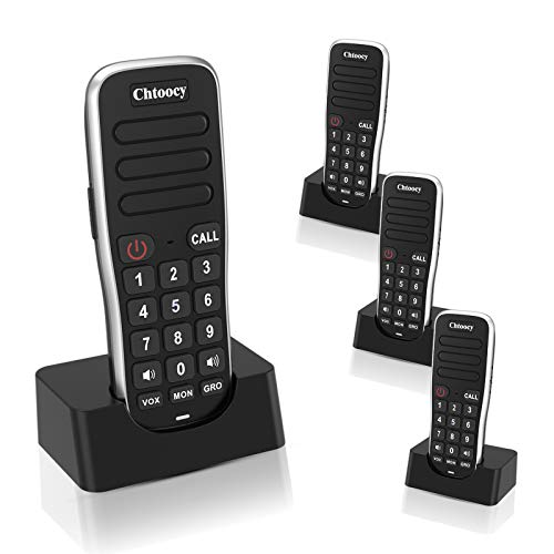 Rechargeable Intercoms Wireless for Home 1 Mile...