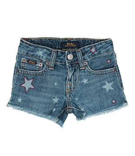 Ralph Lauren Childrenswear Shorts in Denim Niño Kids Girl Mod. 311783778 denim 4 años