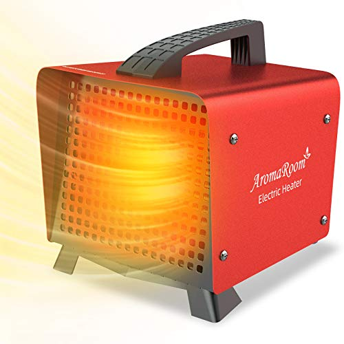 Portable Space Heater, Electric Ceramic Space Heaters with Adjustable...