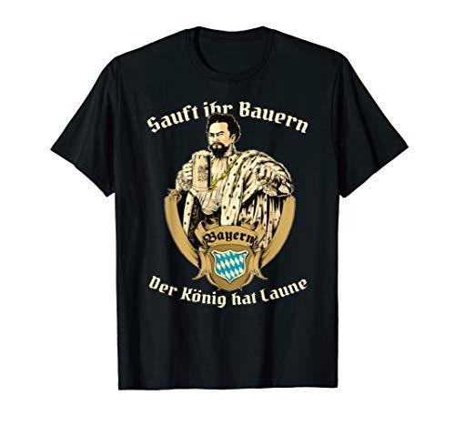 König Ludwig Bayern Bier Tshirt