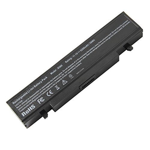 ARyee 5200mAh Laptop battery for SAMSUNG R428 R439 R460 R468 R470 R480 R519 R580 R620 R700R720 R728 R780 RC420 RC510 RC520 RC530 P428 P467 Q320