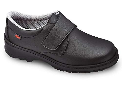 Milan-SCL Liso Color Negro Talla 39, Zapato de Trabajo Unisex Certificado CE EN ISO 20347 Marca DIAN