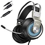 Mpow EG3 Pro Gaming Headset with 3D Surround Sound, PS4 Xbox One...