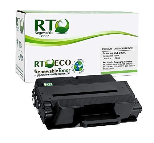 Renewable Toner Compatible Toner Cartridge High Yield Replacement for Samsung MLT-D205L D205L SCX-4833 4835 5637 5639 5737 5739 ML-3310 3312 3710 3712